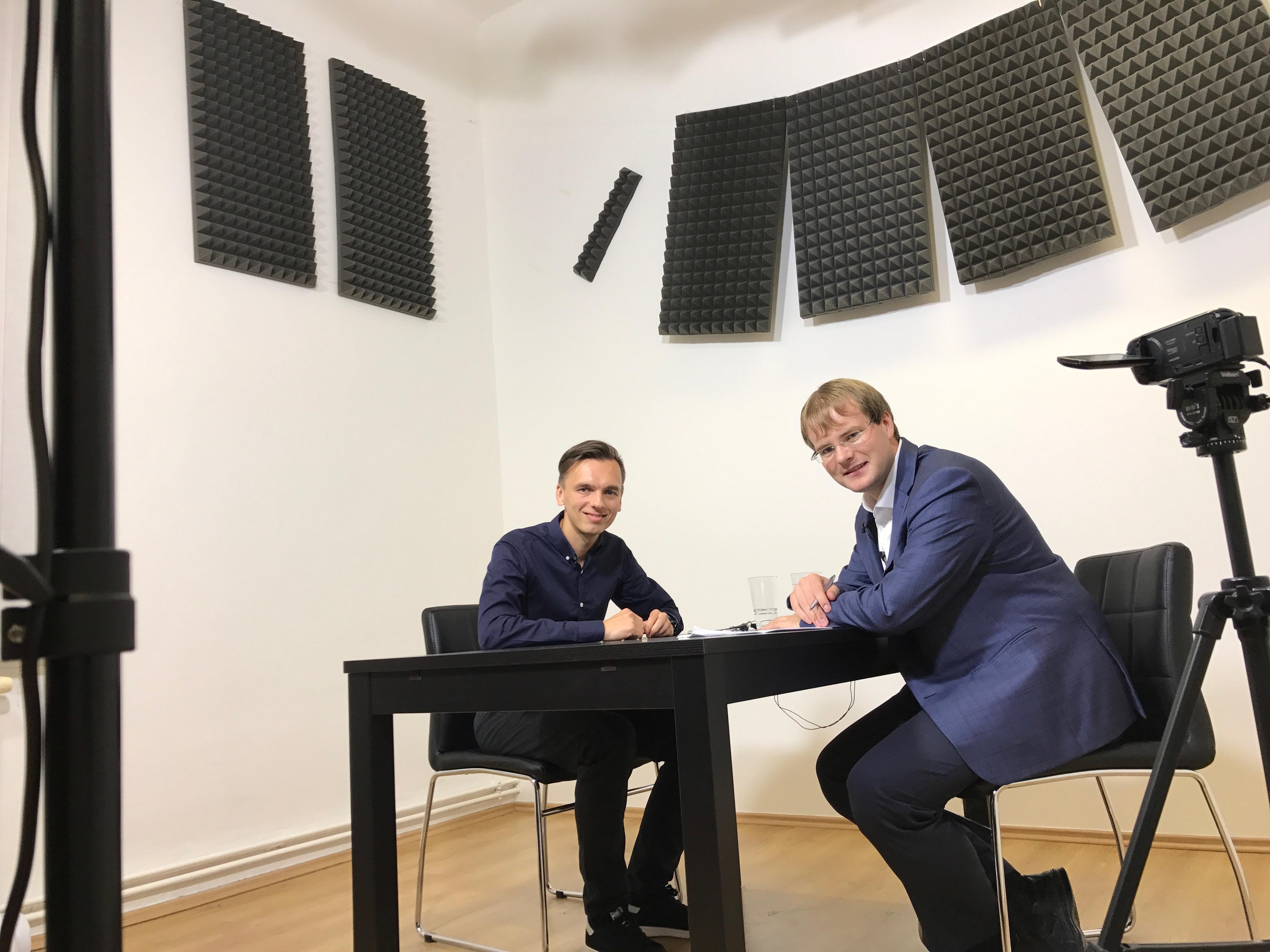 Jiří Rostecký a Michal Hardyn
